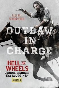 Hell on Wheels (3ª Temporada) - Poster / Capa / Cartaz - Oficial 1