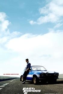 Velozes e Furiosos 6 - Poster / Capa / Cartaz - Oficial 4