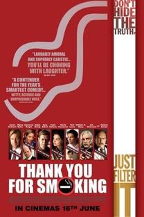 Obrigado por Fumar - Poster / Capa / Cartaz - Oficial 6