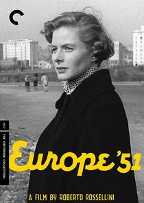 Europa '51 - Poster / Capa / Cartaz - Oficial 1