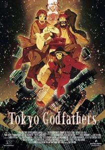 Tokyo Godfathers - Poster / Capa / Cartaz - Oficial 4