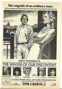 O Inverno da Nossa Desesperança - Poster / Capa / Cartaz - Oficial 3