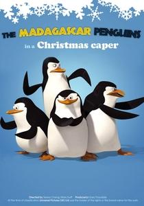 Os Pinguins de Madagascar - Missão de Natal - Poster / Capa / Cartaz - Oficial 3