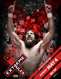 WWE Extreme Rules - 2014 - Poster / Capa / Cartaz - Oficial 1