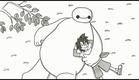 『ベイマックス』鉄拳「パラパラ漫画」オリジナルPV
