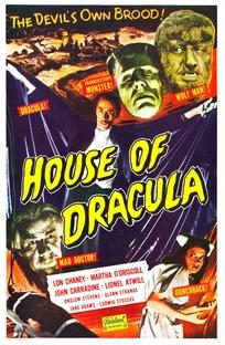 A Casa de Dracula - Poster / Capa / Cartaz - Oficial 3