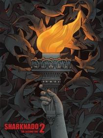 Sharknado 2: A Segunda Onda - Poster / Capa / Cartaz - Oficial 2