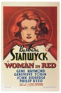 A Dama de Vermelho - Poster / Capa / Cartaz - Oficial 1