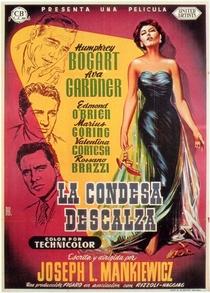 A Condessa Descalça - Poster / Capa / Cartaz - Oficial 1