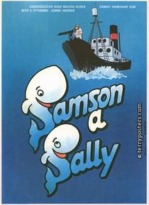 Sansão e Sally: As Baleias Peraltas - Poster / Capa / Cartaz - Oficial 1