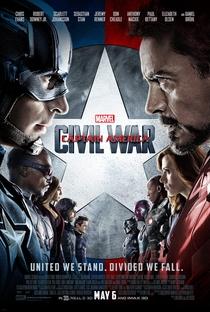 Capitão América: Guerra Civil - Poster / Capa / Cartaz - Oficial 1
