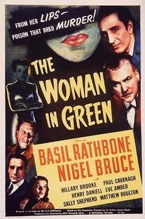 A Mulher de Verde - Poster / Capa / Cartaz - Oficial 1