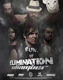 WWE Elimination Chamber - 2014 - Poster / Capa / Cartaz - Oficial 3