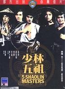 5 Mestres de Shaolin (Shao Lin wu zu)