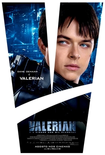 Valerian e a Cidade dos Mil Planetas - Poster / Capa / Cartaz - Oficial 8