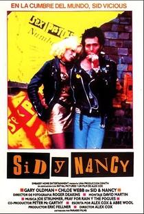 Sid & Nancy - O Amor Mata - Poster / Capa / Cartaz - Oficial 9