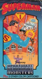 Superman Contra os Monstros Mecânicos - Poster / Capa / Cartaz - Oficial 1
