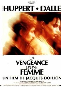 La vengeance d'une femme - Poster / Capa / Cartaz - Oficial 1