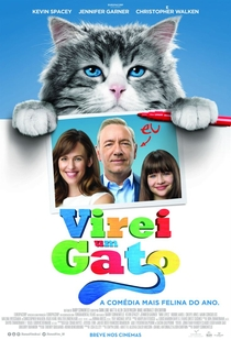 Virei um Gato - Poster / Capa / Cartaz - Oficial 4