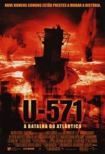 U-571 - A Batalha do Atlântico - Poster / Capa / Cartaz - Oficial 5