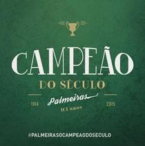 Palmeiras - O Campeão do Século - Poster / Capa / Cartaz - Oficial 1