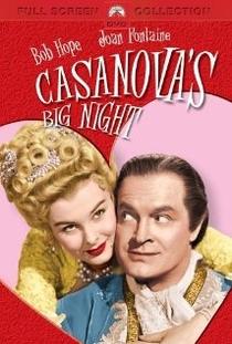A Grande Noite de Casanova - Poster / Capa / Cartaz - Oficial 1