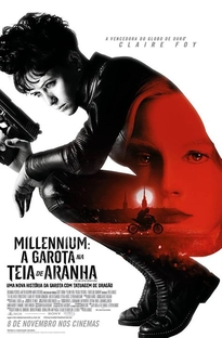 Millennium: A Garota na Teia de Aranha - Poster / Capa / Cartaz - Oficial 1