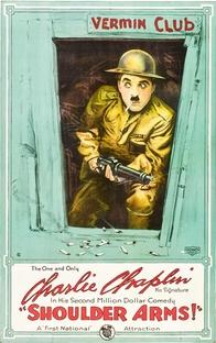 Carlitos nas Trincheiras - Poster / Capa / Cartaz - Oficial 1