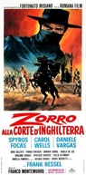 Zorro na Corte da Inglaterra (Zorro alla Corte d'Inghilterra)