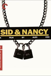 Sid & Nancy - O Amor Mata - Poster / Capa / Cartaz - Oficial 11