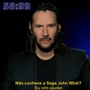 Keanu Reeves apresenta franquia John Wick em 60 segundos