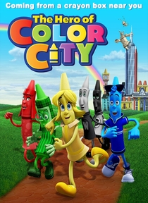 The Hero of Color City - Poster / Capa / Cartaz - Oficial 1