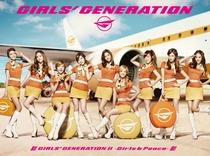 Girls' Generation - 2nd Japan Tour - Girls&Peace - Poster / Capa / Cartaz - Oficial 1