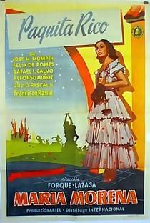 María Morena - Poster / Capa / Cartaz - Oficial 2