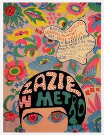Zazie no Metrô - Poster / Capa / Cartaz - Oficial 5