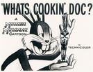 O Oscar Vai Para Pernalonga (What's Cookin' Doc?)