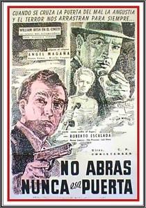 Nunca Abras Essa Porta - Poster / Capa / Cartaz - Oficial 1