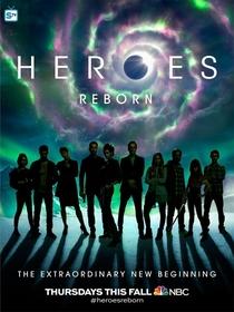 Heroes Reborn  - Poster / Capa / Cartaz - Oficial 2