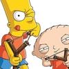 Crossover entre Os Simpsons e Family Guy ganha capas da EW e trailer estendido