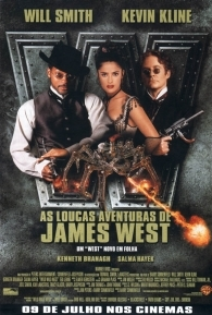 As Loucas Aventuras de James West - Poster / Capa / Cartaz - Oficial 3