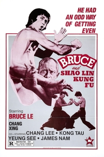 Bruce and Shaolin Kung Fu - Poster / Capa / Cartaz - Oficial 1