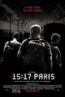 15h17 - Trem Para Paris - Poster / Capa / Cartaz - Oficial 1