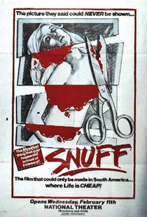Snuff - Poster / Capa / Cartaz - Oficial 1