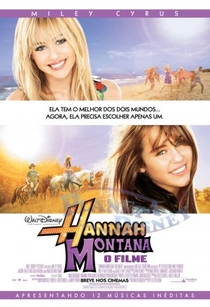 Hannah Montana: O Filme - Poster / Capa / Cartaz - Oficial 2
