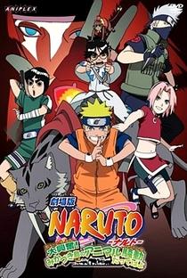 Naruto 3: A Revolta dos Animais da Lua Crescente! - Poster / Capa / Cartaz - Oficial 2
