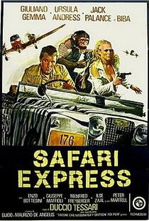 Expresso da Africa - Poster / Capa / Cartaz - Oficial 2