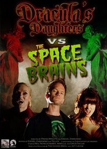 As Filhas de Drácula Enfrentam os Cérebros do Espaço - Poster / Capa / Cartaz - Oficial 1