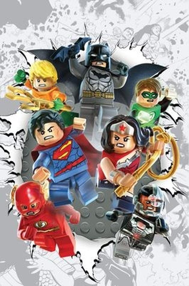 DC Comics: versões LEGO de heróis e vilões nas capas variantes de novembro