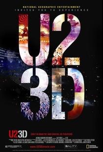 U2 3D - Poster / Capa / Cartaz - Oficial 1