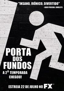 Porta dos Fundos (2ª Temporada) - Poster / Capa / Cartaz - Oficial 1
